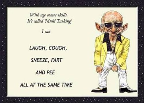 Age is definitely a state of mind! - Naseeb.com Old Age Funny